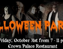 Join Us For Halloween 2014 at Crown Palace Restaurant