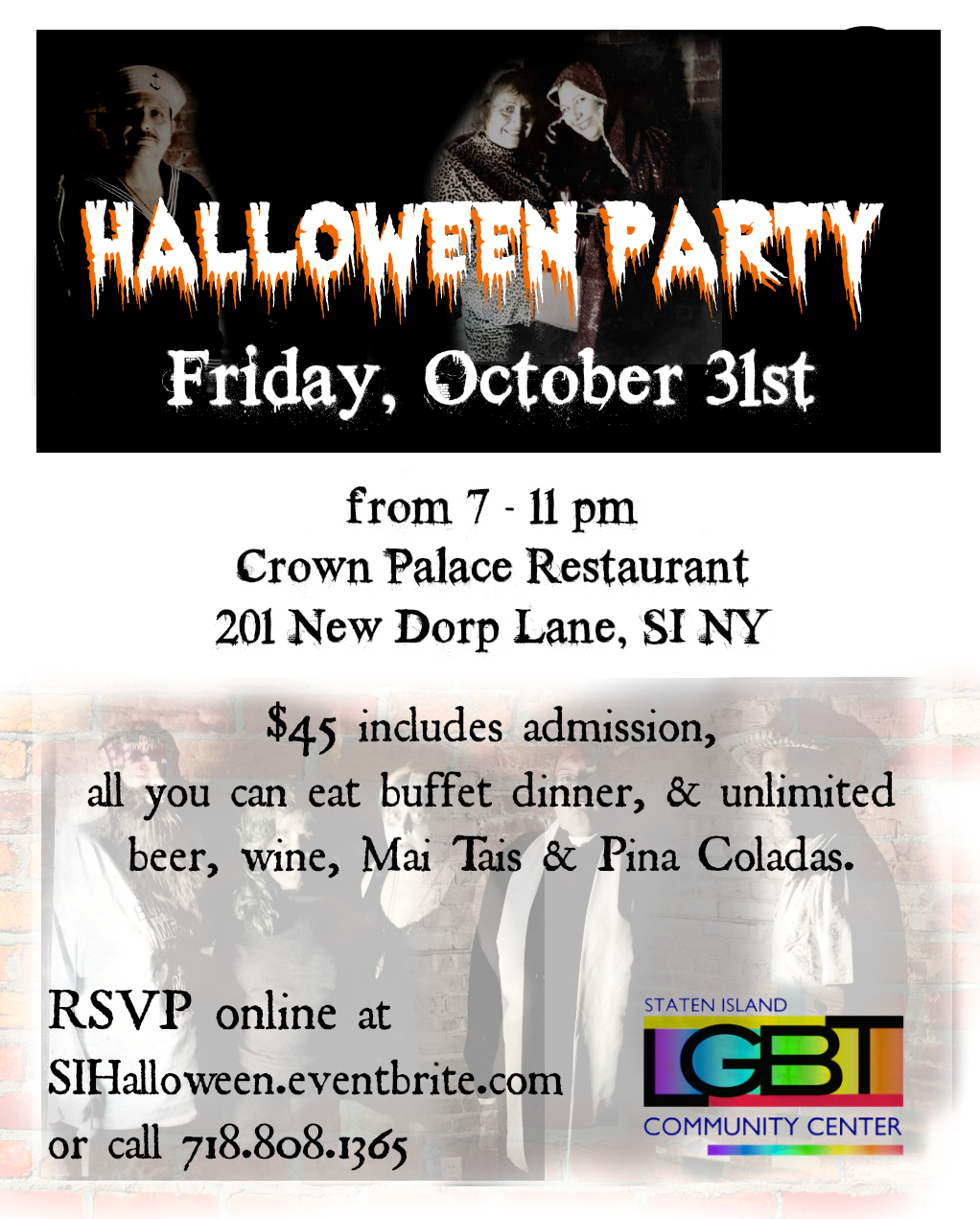 2014 LGBT Halloween at Crown Palace Restaurant | Fairplay TV